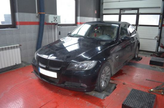 BMW E90 318D 143KM chip tuning