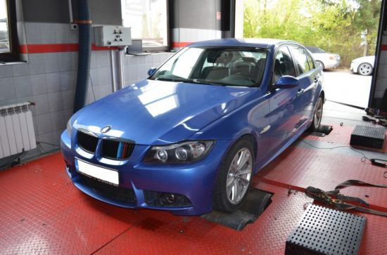 BMW E90 320D 163KM chip tuning