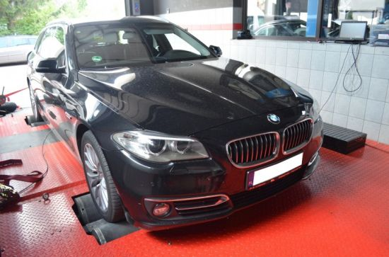 BMW F10 520D 184 KM chip tuning