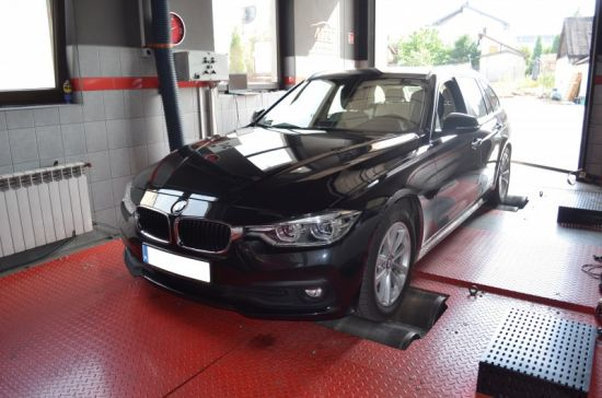 BMW F30 320D 163KM chip tuning