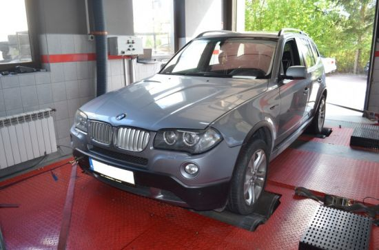 BMW X3 E83 3.0D 286KM chip tuning