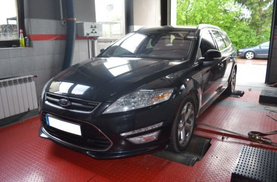 FORD MONDEO 2.0TDCI 163KM chip tuning