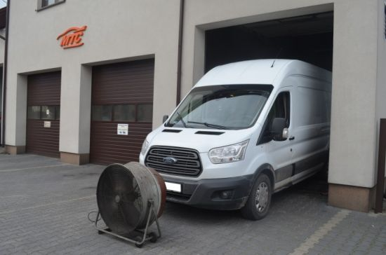 FORD TRANSIT 2.2TDCI 155KM chip tuning