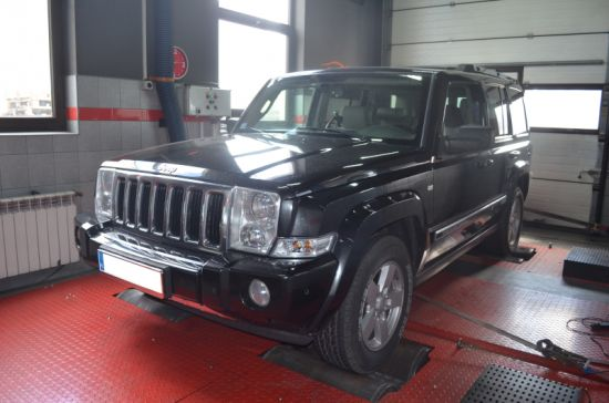 JEEP COMMANDER 3.0CRD 218KM wykres