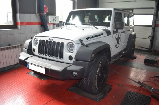 JEEP WRANGLER 2.5CRD 200KM chip tuning