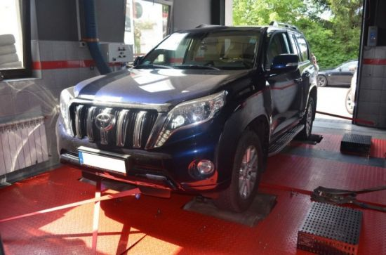 TOYOTA LAND CRUISER 3.0D4D eco tuning