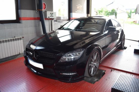 ERCEDES CLS 350 3.0CDI 265KM chip tuning