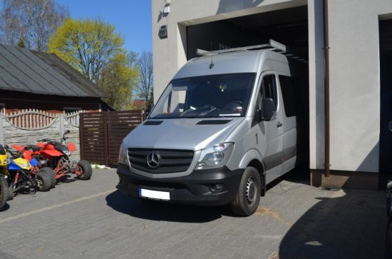 MERCEDES SPRINTER 314 2.2CDI 143KM chip tuning