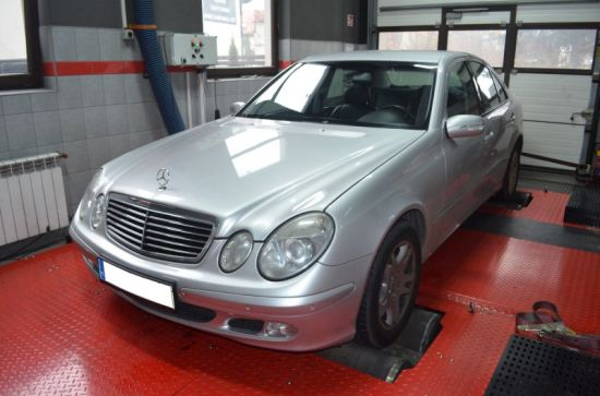 MERCEDES W211 2.2CDI 129KM CHIP TUNING