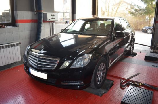MERCEDES W212 E220 2.2CDI 170KM CHIP TUNING