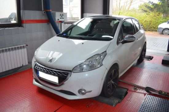 PEUGEOT 208 GTI 1.6T 200KM chip tuning