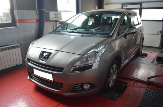 PEUGEOT 5008 2.0HDI 150 KM chip tuning