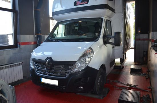 RENAULT MASTER III 2.2 DCI 170 KM chip tuning