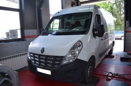 RENAULT MASTER III 2.3 DCI 101 KM chip tuning