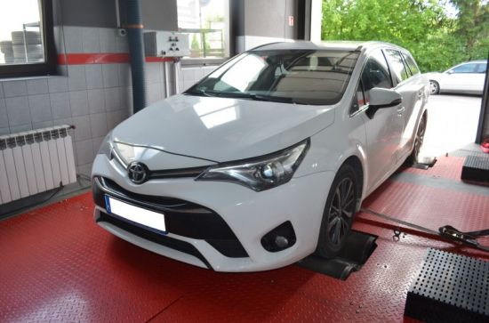 TOYOTA AVENSIS 2.2D4D 143KM CHIP TUNING