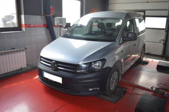 VW CADDY 2.0TDI 75KM chip tuning