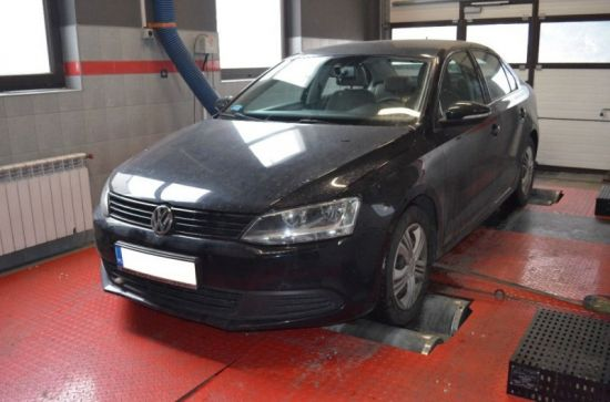VW JETTA 1.6TDI 105KM chip tuning