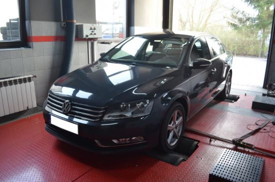 VW PASSAT B7 1.6TDI 105KM chip tuning