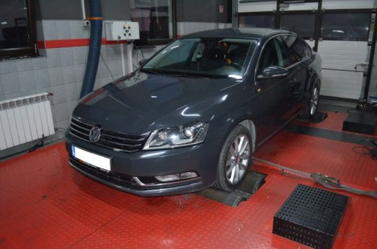 VW PASSAT B7 2.0TDI 140KM chip tuning
