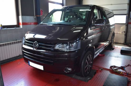 VW TRANSPORTER T5 2.0TDI 180KM chip tuning