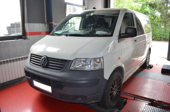 VW T5 2.5TDI 131KM chip tuning